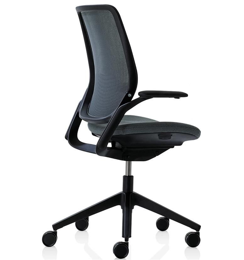 Orangebox Eva Task Chair, Black Edition