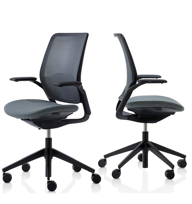 Orangebox Eva office chair black components