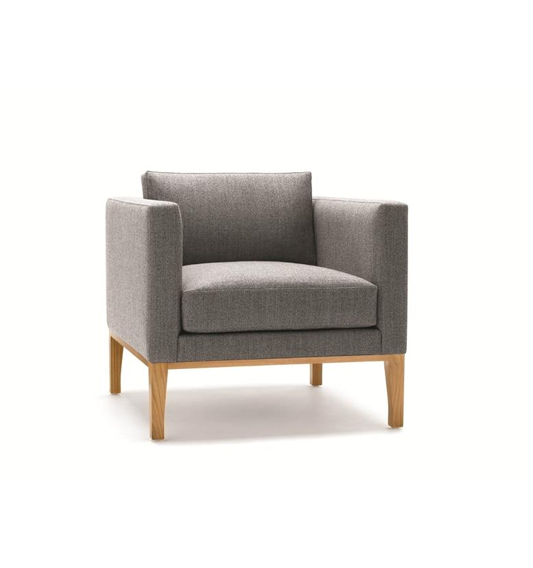 Lyndon Design Orten Small Archair with Legs