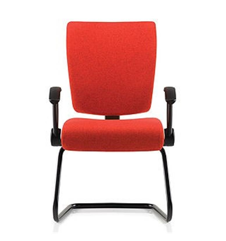 Pledge May'b Cantilever Meeting Chair with arms