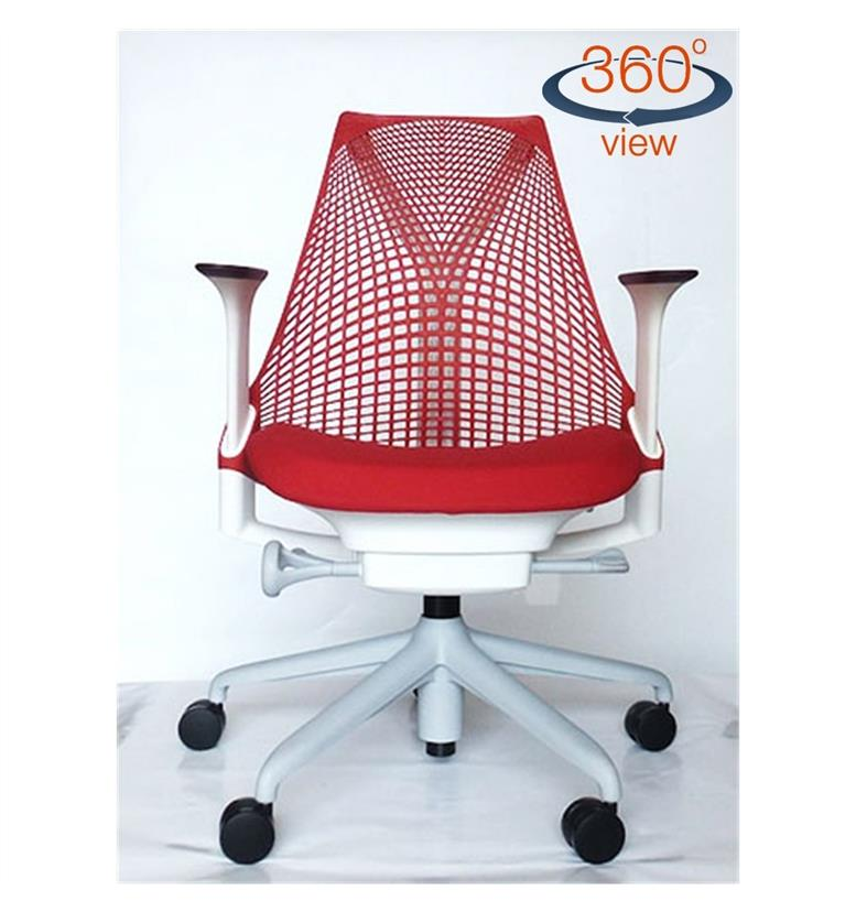 Herman Miller Sayl Office Chair, Rosso Red (IN STOCK FREE DELIVERY)