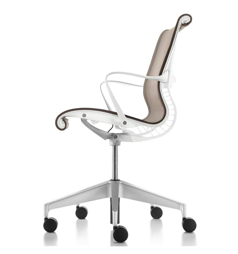 Herman Miller Setu White Upholstered