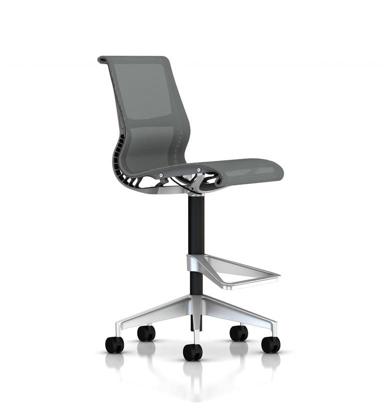 Herman Miller Setu Stool Slate Grey