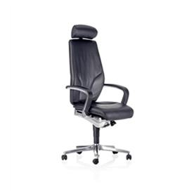 Giroflex G64 9878 Executive Swivel Armchair with Headrest