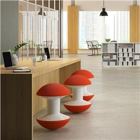 humanscale ballo stool at a bar