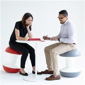 humanscale ballo at meeting table