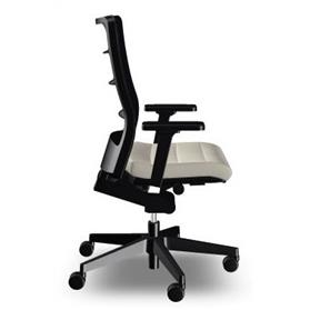 Interstuhl air pad office chairl air pad office chair black base and arms