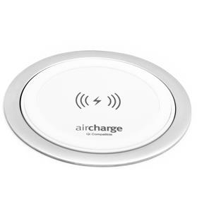 aircharge surface charger white aluminium slant