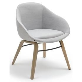 naughtone Always Chair with Oak Plywood Base