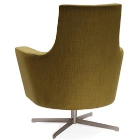 Herman MIller Anchor Swivel Lounge Chair Rear
