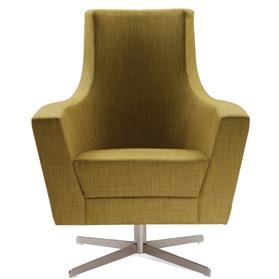 Herman MIller Anchor High Back Lounge Chair Front