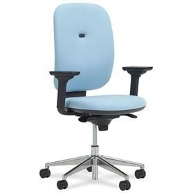Verco Apollo High Back Task Chair, Height adjustable arms