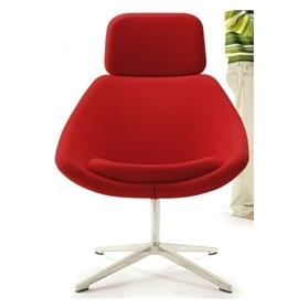 Allermuir Open Lounge Chair With Headrest