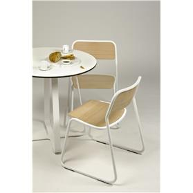 naughtone bounce chair white