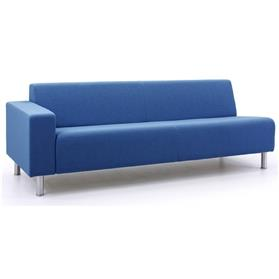 Verco Bradley Three Seater Bench Left Arm
