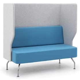 Verco Brix-up Two Seater Bench with a Full High Back