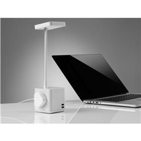 CBS Cubert LED Desk Light with USB & Power Charging