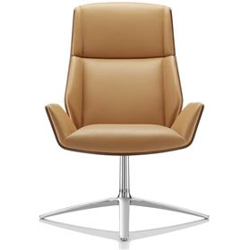 Boss Design Kruze High Back leather lounge chair
