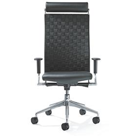 Girsberger Corpo High Back Executive Office Chair with Headrest