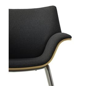 Herman Miller Swoop Plywood Chair