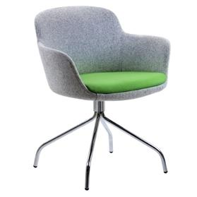Verco Danny Swivel Tub Chair Green