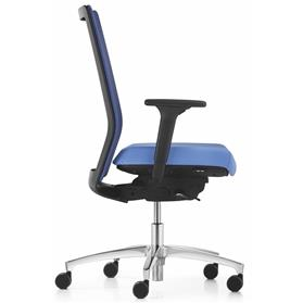 Dauphin Stilo mesh back office chair side