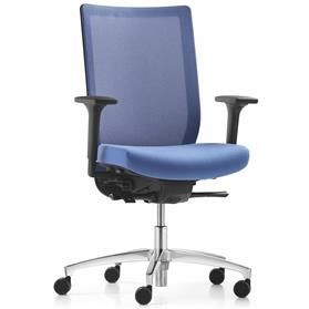 Dauphin Stilo mesh back office chair front