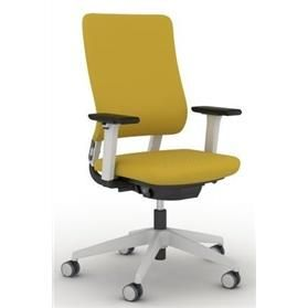 Viasit Drumback Swivel Chair Tele Grey Backrest