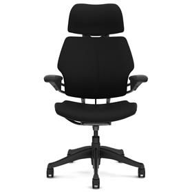 Humanscale Freedom Headrest Task Chair - Graphite - Front