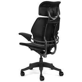 Humanscale Freedom Headrest Task Chair - Graphite - Back