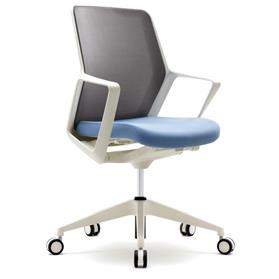 Verco Flow Medium Back Task Chair White