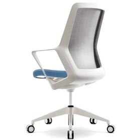 Verco Flow High Back Office Chair White Back