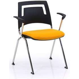 Verco Fly Plastic Back with Arms