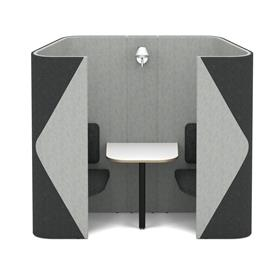 Allermuir Haven Duo Compact Two Person Meeting Space