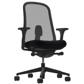 Herman Miller Lino Black Edition, Fully Adjustable Arms