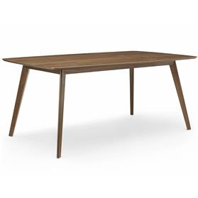 Lyndon Design Isla Rectangular Table, Walnut Veneer