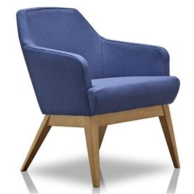 Herman Miller Jetty Compact Chair Blue Side
