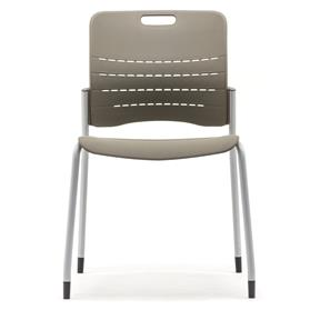 Senator Jonny Plastic Stacking Chair Front