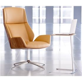 Boss Design Kruze leather Chair with laptop stand