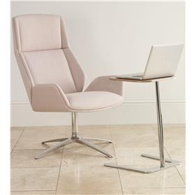 Boss Design Kruze Fabric Chair with laptop stand