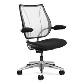 Humanscale Liberty Chair, Fabric Seat Design Your Own