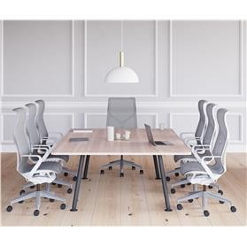 herman miller cosm white high back