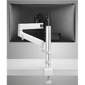 cbs lima monitor arm in white