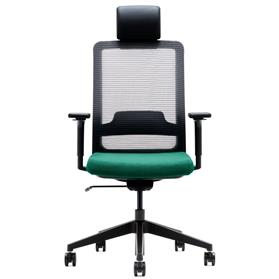 Verco Max Mesh High Back Task Chair with headrest Front