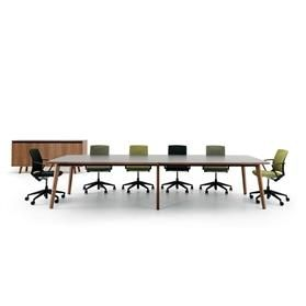 Verco Martin Barrel Shaped Conference Table
