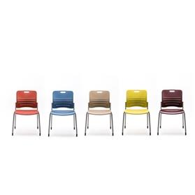 Senator Jonny Plastic Stacking Chair Colours