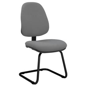 Elite start upholstered cantilever meeting chair