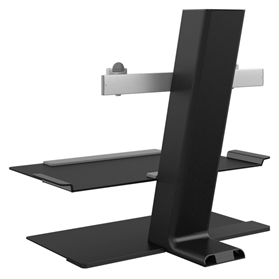 Humanscale Quickstand Black Rear