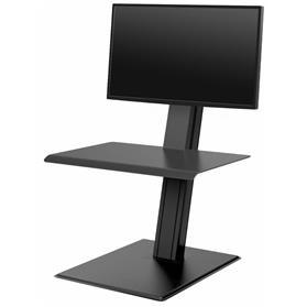 IN STOCK! Humanscale Quickstand Eco, Single Monitor, Black