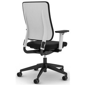 Viasit Drumback Office Chair, QuickShip Tele Grey